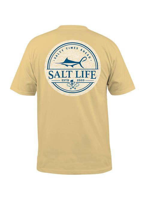 Salt Life Mens Forecast Graphic T-Shirt