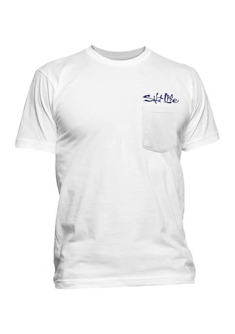 Salt Life Mens Dawn Graphic T-Shirt