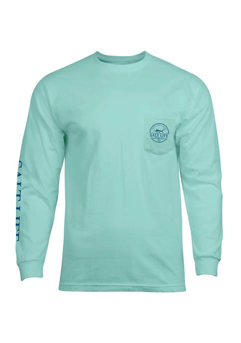 Mens Long Sleeve Forecast T-Shirt