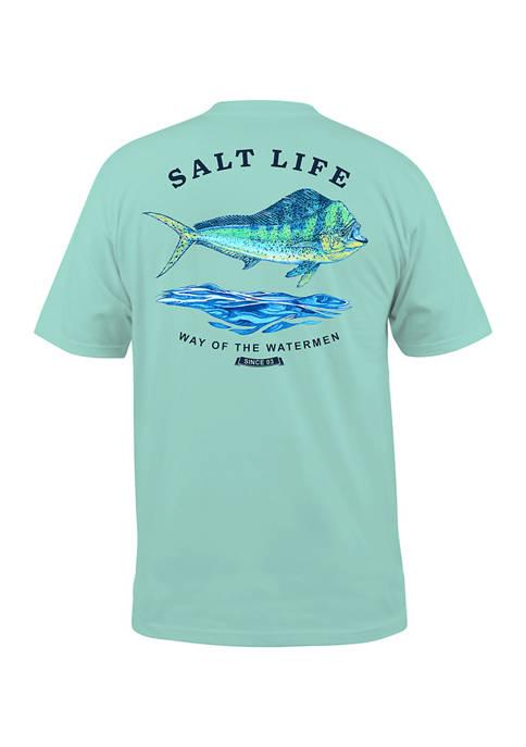 Mahi Bound Graphic T-Shirt