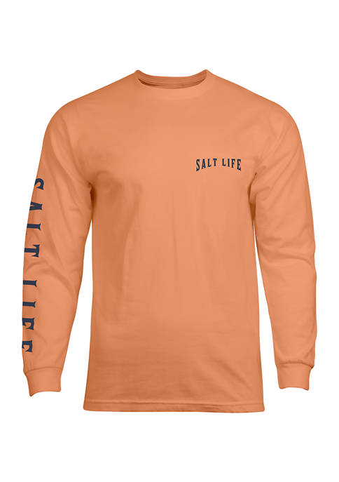 Long Sleeve Tuna Mission Graphic T-Shirt