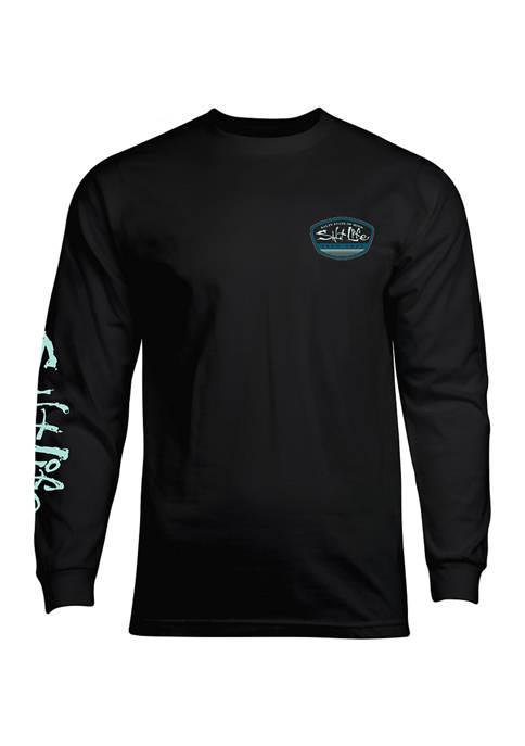 Salt Life Long Sleeve Logo Graphic T-Shirt