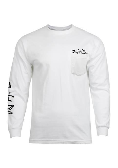 Salt Life Long Sleeve Fishermans Glory Graphic T-Shirt