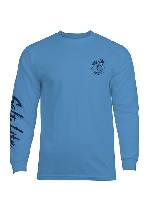 Salt Life One More Cast Long Sleeve Graphic