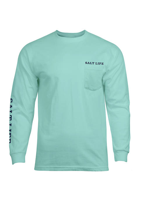 Salt Life Mahi Bound Long Sleeve Graphic T-Shirt