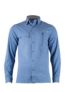 Long Sleeve Angler Fishing Shirt