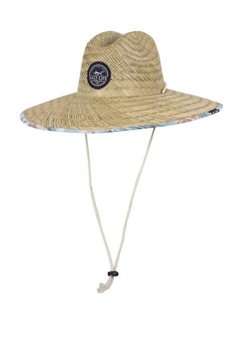 Salt Life Mens Boat Life Straw Hat