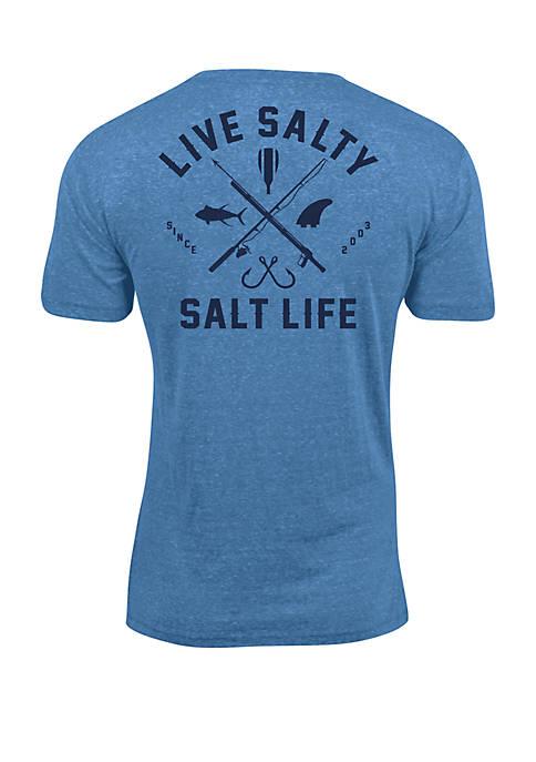 Salt Life Modern Waterman T Shirt