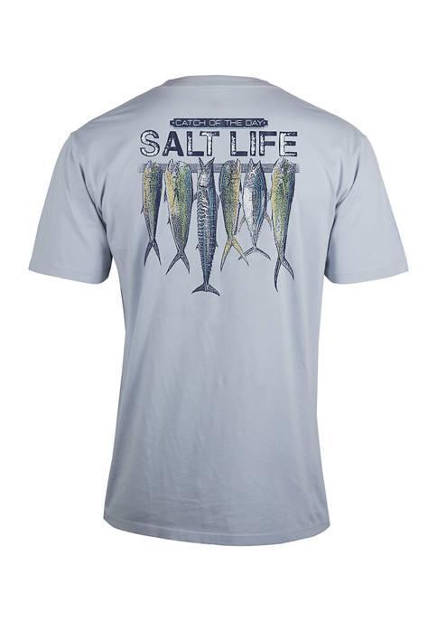 Short Sleeve Stringer Salt Graphic T-Shirt