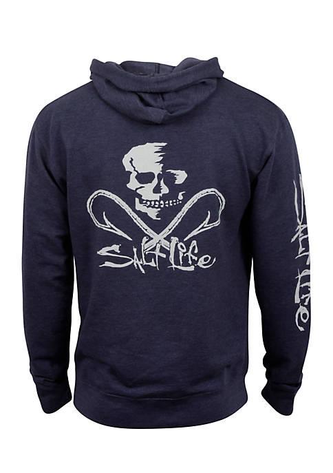 Salt Life Skull and Hooks Graphic Hoodie
