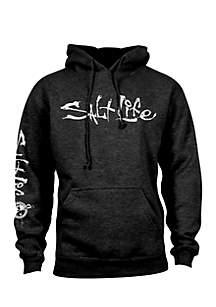 Long Sleeve Signature Fleece Hoodie