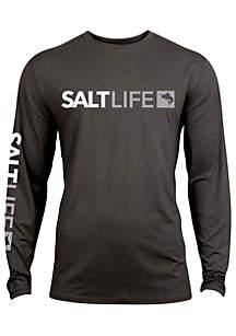 Perforated Modern Marlin Salt Life Tee