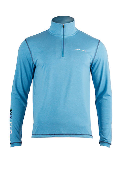 Salt Life Reflection 1/4 Zip Performance Pullover