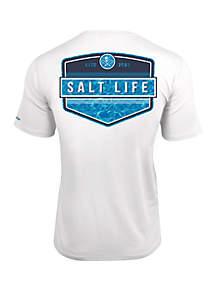 44b4def879e11 ... Salt Life Short Sleeve Calm Water Performance Pocket Tee