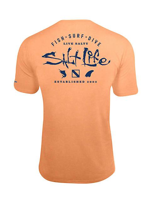 Short Sleeve Watermens Trifecta T Shirt