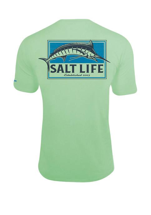Mens Pure Marlin Short Sleeve SLX T-Shirt