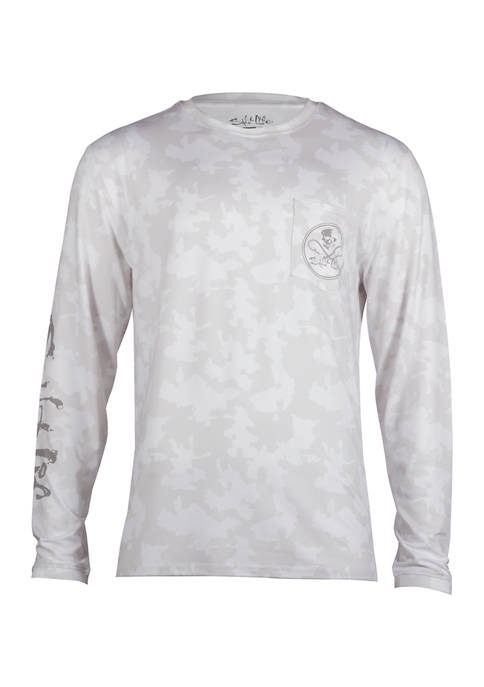 Mission Long Sleeve SLX Performance Graphic Shirt