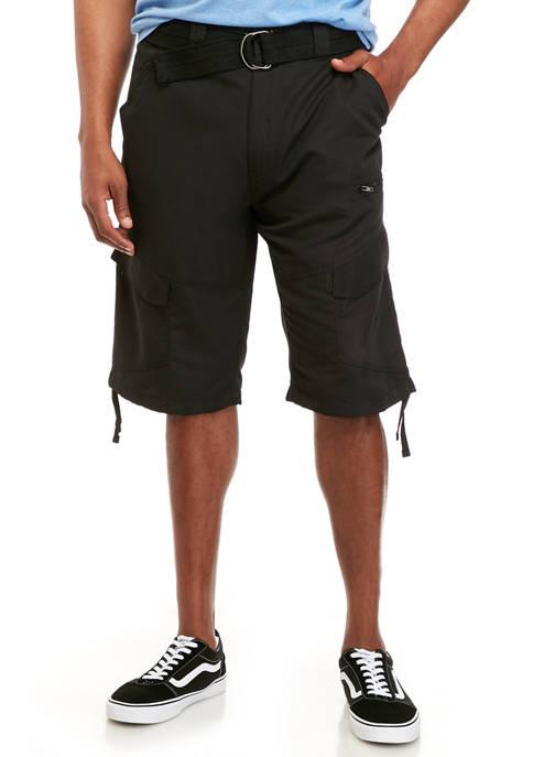 Plugg™ Big & Tall Neutron Hybrid Messenger Shorts