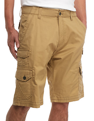 892c4167a0 Plugg™ Big & Tall Trench Comfort Flex Waistband Stretch Twill Cargo Shorts
