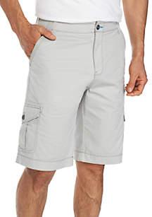 Binary Flex Stretch Twill Cargo Shorts