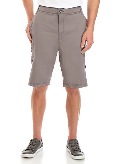 Plugg™ Big & Tall Stonewall Stack Cargo Shorts