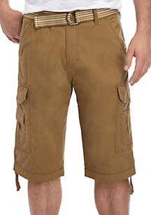 dfd3957464 ... Plugg™ Contraband Belted Cargo Shorts