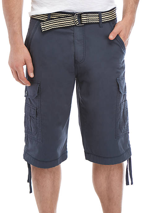Contraband Belted Cargo Shorts