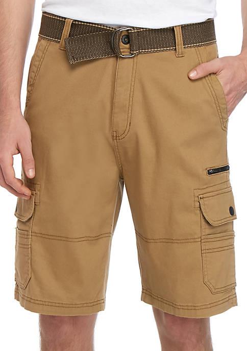 Plugg™ Western Stretch Cargo Shorts