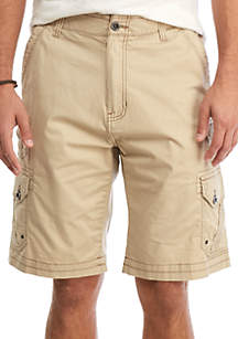 Trench Stretch Cargo Shorts