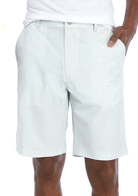 Greg Norman® Collection Linen Look Performance Shorts