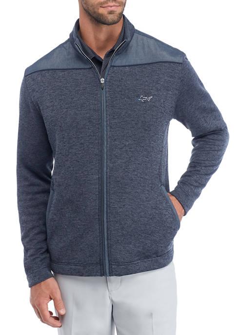 Greg Norman® Collection Mens Full Zip Fleece Jacket