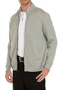 Full-Zip Knit Jacket