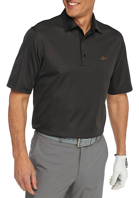 Greg Norman® Collection Short Sleeve Mini Feed Stripe