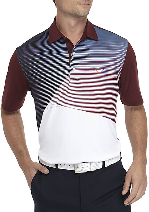 Greg Norman® Collection Short Sleeve Color Block Polo