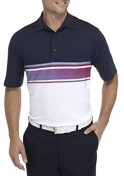 Greg Norman® Collection Short Sleeve Equinox Color Block