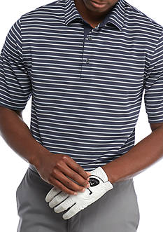Greg Norman® Collection Short Sleeve Stretch Mini-stripe Polo Shirt