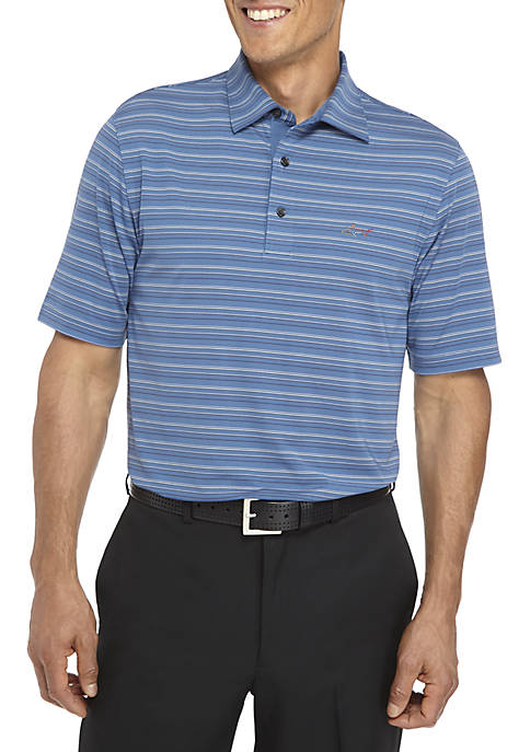 Greg Norman® Collection Multi Feeder Stripe Polo Shirt