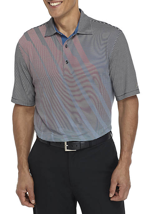 Greg Norman® Collection Short Sleeve Fashion Print Polo