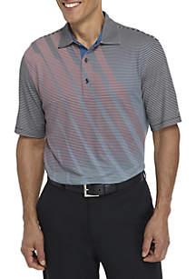 Short Sleeve Fashion Print Polo
