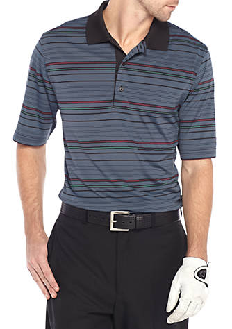 Greg Norman® Collection Yarn Dyed Jersey Striped Polo Cheap Amazing Price Sale Hot Sale Tc9ViLdP