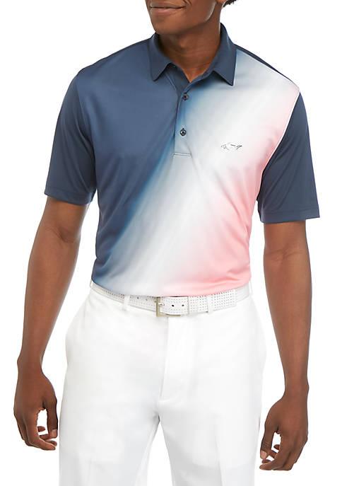 Greg Norman® Collection Diagonal Ombre Fashion Polo