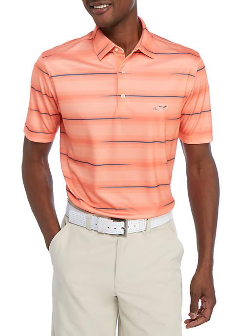 Greg Norman® Collection Broken Stripe Polo