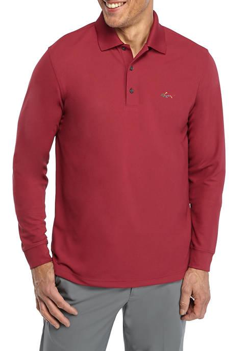 Greg Norman® Collection Micro Pique Shark Shirt