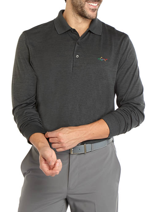 Greg Norman® Collection Mens Long Sleeve Space Dye