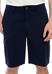 Saddlebred® Twill Cargo Shorts