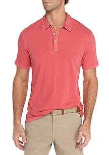 Sun Washed Cotton Polo Shirt