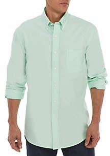 Saddlebred® Long Sleeve Solid Oxford Shirt