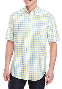 Saddlebred® Short Sleeve Dress Oxford Shirt
