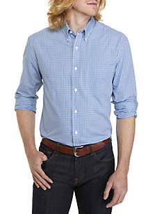 Big & Tall Long Sleeve Woven Plaid Shirt