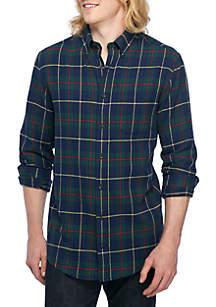 Big & Tall Long Sleeve Flannel Shirt